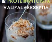 30 kevyttä & proteiinipitoista välipalaa! -reseptikirja