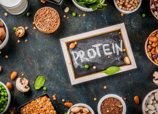 riittävä proteiinin saanti